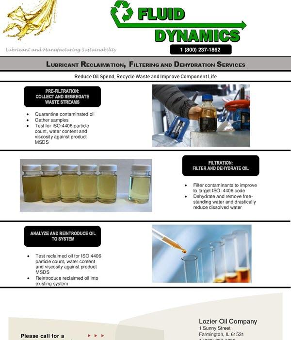 Filtration Information - Front